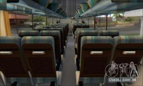 Setra S215 HD para GTA San Andreas vista traseira