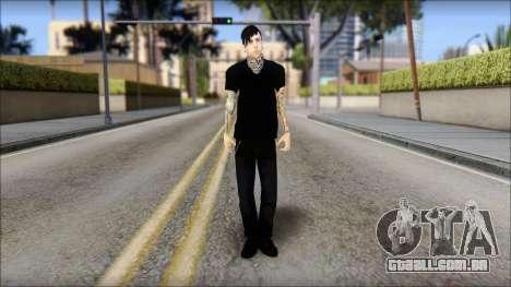 Billy from Good Charlotte para GTA San Andreas