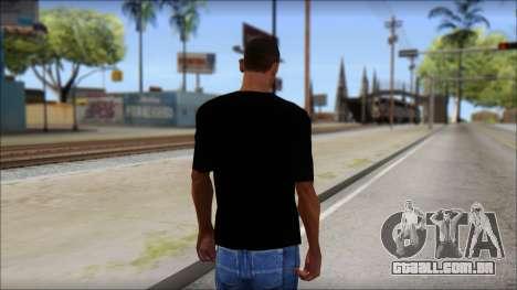 Metallica Master Of Puppets T-Shirt para GTA San Andreas segunda tela