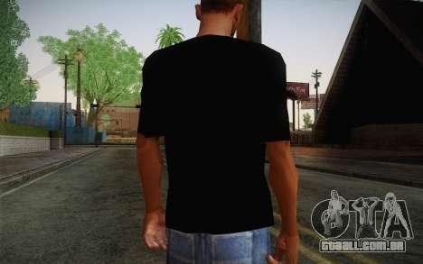 Batman Swag Shirt para GTA San Andreas segunda tela