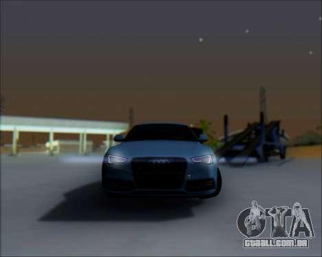 Audi A7 para vista lateral GTA San Andreas
