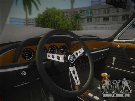 BMW 3.0 CSL 1971 para GTA Vice City vista direita