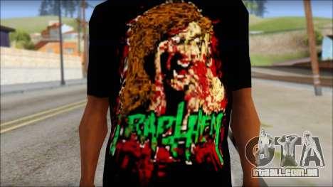 Trapheim T-Shirt Mod para GTA San Andreas terceira tela