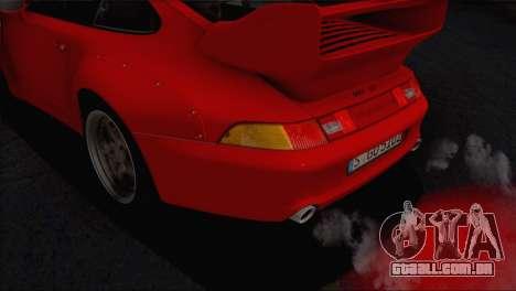 Porsche 911 GT2 (993) 1995 V1.0 EU Plate para o motor de GTA San Andreas