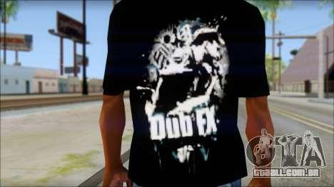 Dub Fx Fan T-Shirt v1 para GTA San Andreas terceira tela