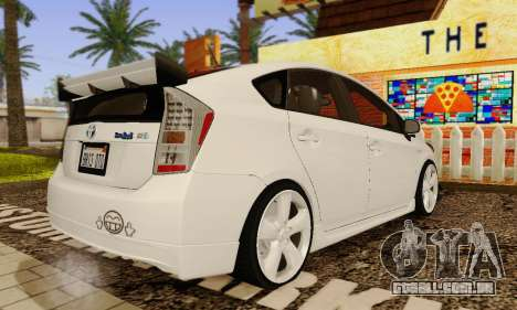Toyota Prius Tunable para vista lateral GTA San Andreas