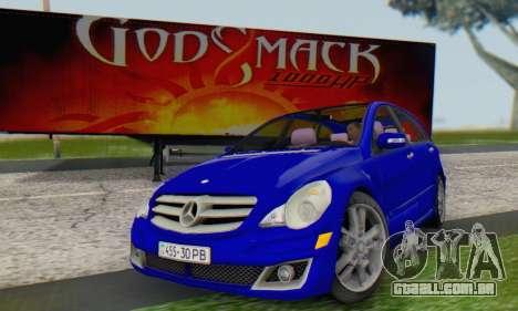 Mercedes-Benz R350 para GTA San Andreas vista direita
