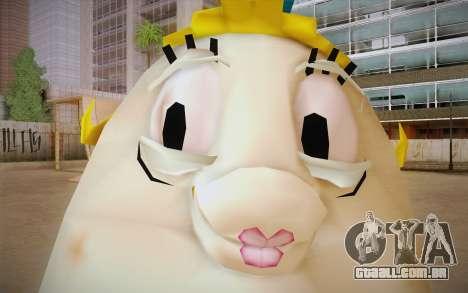 Mrs. Puff from Sponge Bob para GTA San Andreas terceira tela