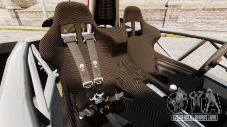 Ariel Atom 3.5 para GTA 4 vista interior