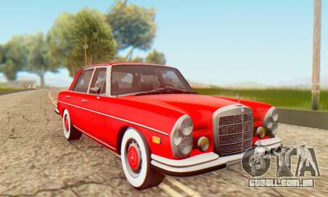 Mercedes-Benz 300SEL Stock 1972 para GTA San Andreas