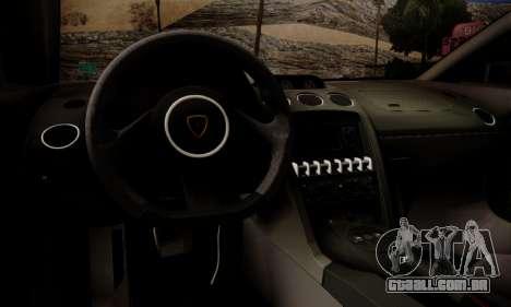 Lamborghini Gallardo LP 570-4 2011 Police v2 para o motor de GTA San Andreas