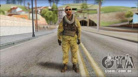 Afganistan Forces para GTA San Andreas
