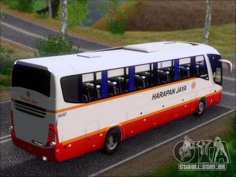 Marcopolo Paradiso 1200 Harapan Jaya para o motor de GTA San Andreas