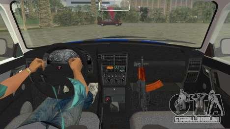GAZ 31105 Volga DPS para GTA Vice City vista traseira esquerda