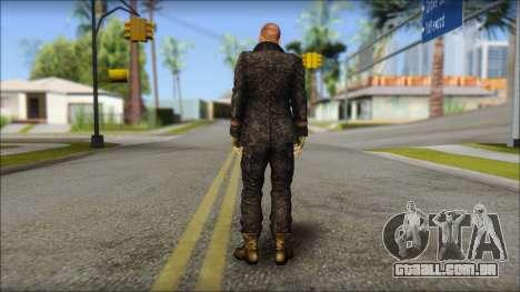 Jake Muller from Resident Evil 6 para GTA San Andreas segunda tela