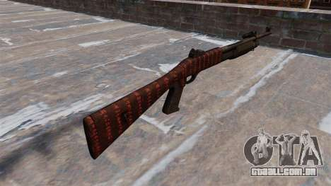Ружье Benelli M3 Super 90 arte da guerra para GTA 4 segundo screenshot
