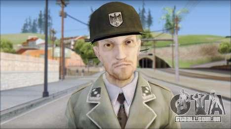 Wehrmacht soldier para GTA San Andreas terceira tela