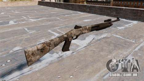 Ружье Benelli M3 Super 90 ghotex para GTA 4 segundo screenshot