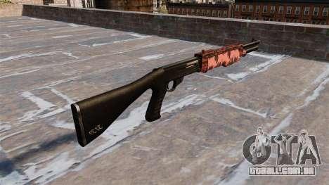 Ружье Franchi SPAS-12 Vermelho tigre para GTA 4 segundo screenshot