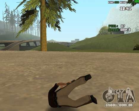 Standing Somersault para GTA San Andreas segunda tela