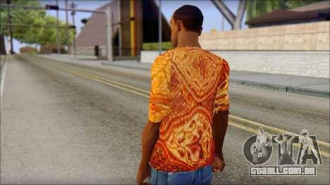 Batik Solo T-Shirt para GTA San Andreas segunda tela