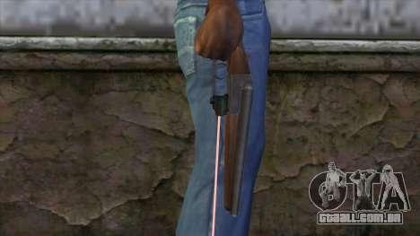 Sangrar com mira a laser para GTA San Andreas terceira tela