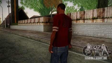 Kehed T-Shirt para GTA San Andreas segunda tela