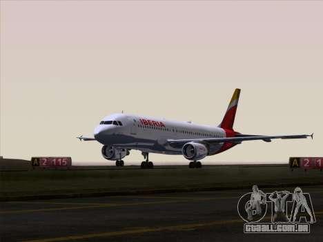 Airbus A320-214 Iberia para o motor de GTA San Andreas