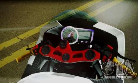 Kawasaki Ninja 250 fi para GTA San Andreas traseira esquerda vista