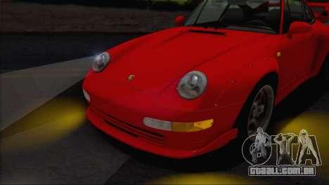 Porsche 911 GT2 (993) 1995 V1.0 EU Plate para GTA San Andreas vista superior