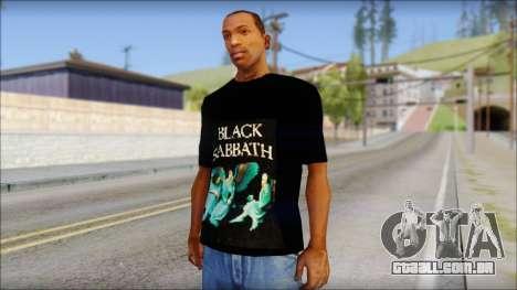 Black Sabbath T-Shirt v1 para GTA San Andreas