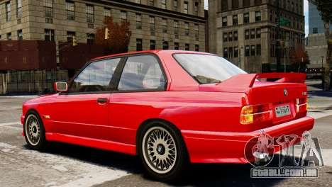 BMW M3 E30 para GTA 4 esquerda vista