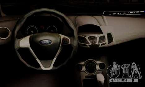 Ford Fiesta Turkey Drift Edition para GTA San Andreas vista direita