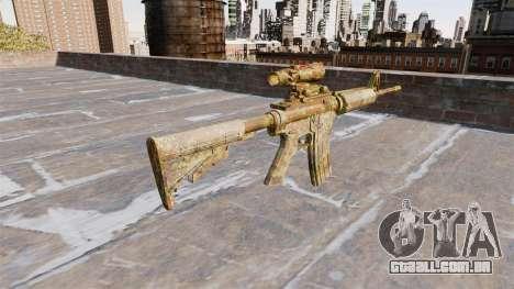Automático carabina MA Skol Camo para GTA 4 segundo screenshot