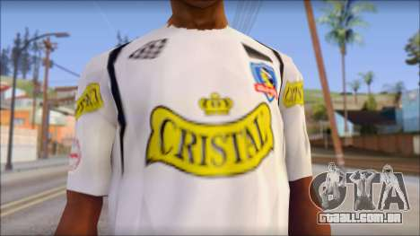 Colo Colo 09 T-Shirt para GTA San Andreas terceira tela