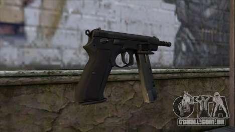 CZ75 from CS:GO v2 para GTA San Andreas segunda tela