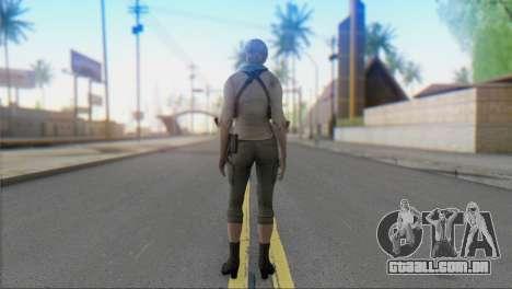 Sherry Birkin Asia from Resident Evil 6 para GTA San Andreas segunda tela