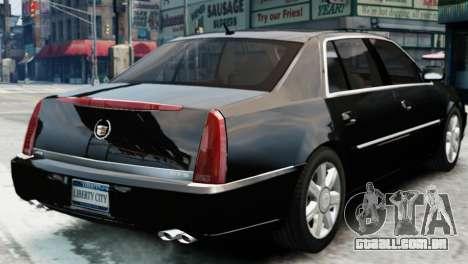Cadillac DTS 2006 v1.0 para GTA 4 esquerda vista
