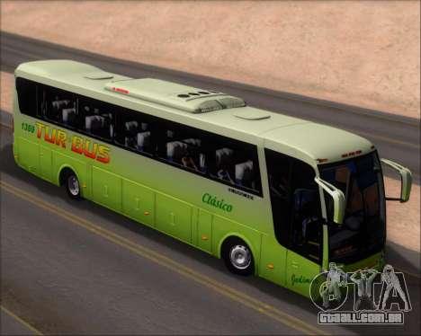 Busscar Vissta LO Scania K310 - Tur Bus para GTA San Andreas vista traseira