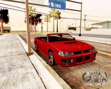 Sultan Conversível para GTA San Andreas