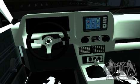Tofas Sahin 06 HLR 53 para GTA San Andreas traseira esquerda vista