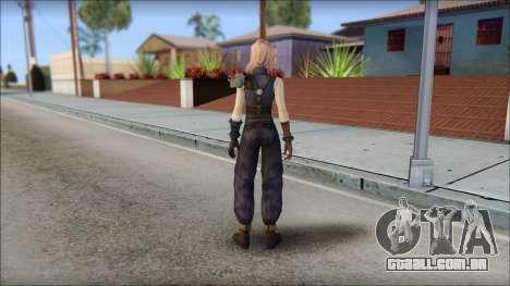 Final Fantasy XIII - Lightning Lowpoly para GTA San Andreas segunda tela