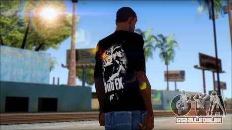 Dub Fx Fan T-Shirt v1 para GTA San Andreas segunda tela