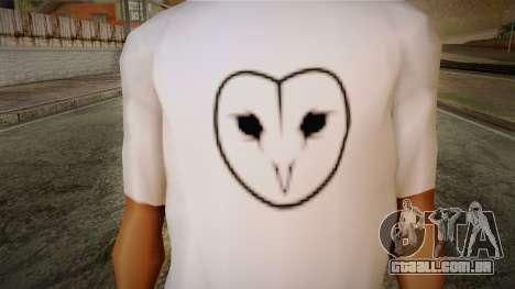 Dreambirds T-Shirt para GTA San Andreas terceira tela
