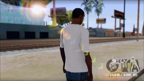 Johnny Bravo T-Shirt v1 para GTA San Andreas segunda tela