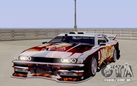 O trabalho da pintura para a Yakuza Elegia para GTA San Andreas vista direita