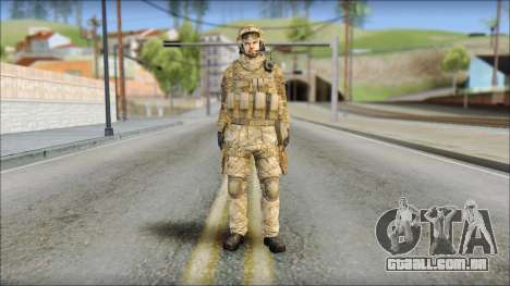 Desert SAS from Soldier Front 2 para GTA San Andreas