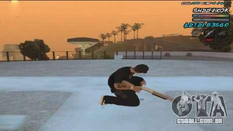 C-HUD by ShnoorOK para GTA San Andreas segunda tela