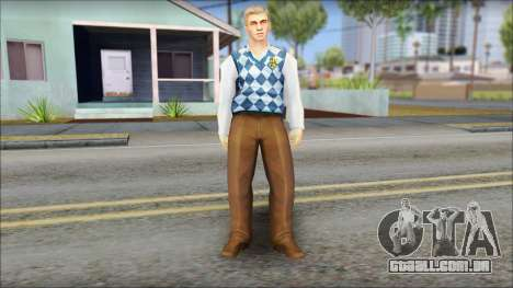 Derby from Bully Scholarship Edition para GTA San Andreas segunda tela