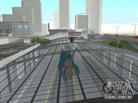 Princess Celestia para GTA San Andreas sexta tela